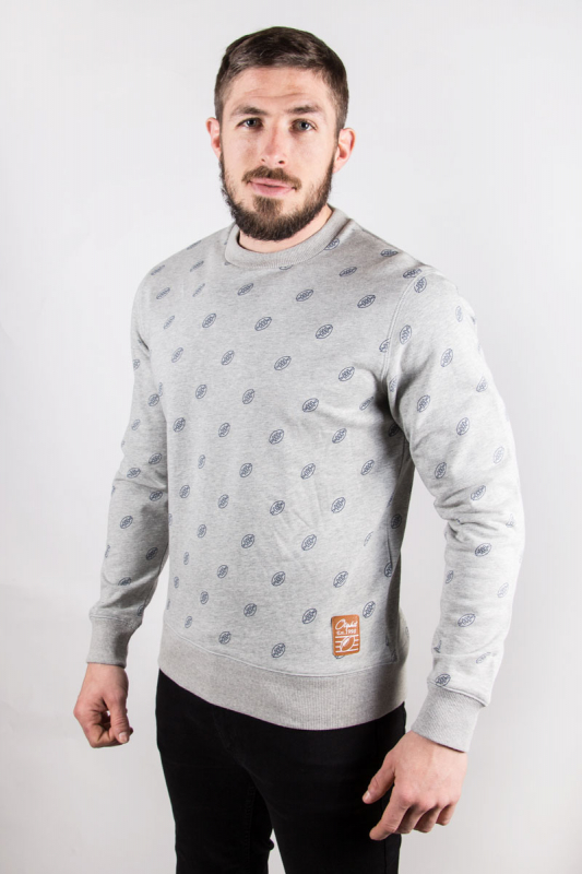 Pull over Lover gris chiné 9S