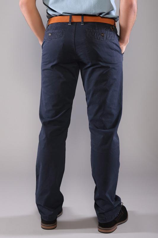 Pantalon chino Oliphil marine