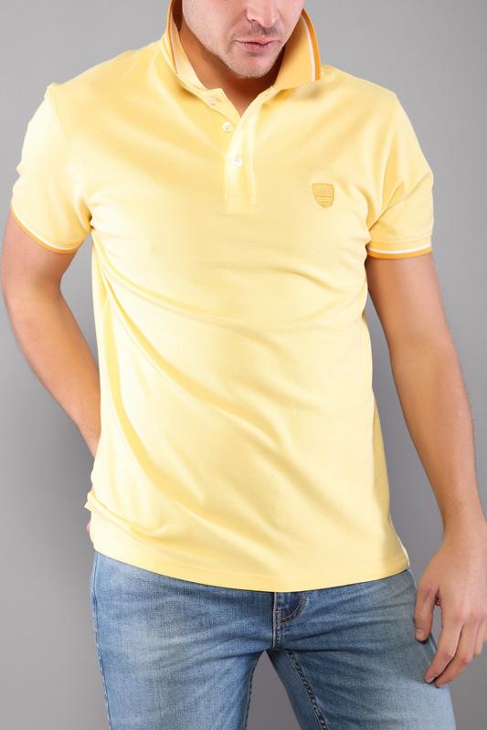Polo homme Prime jaune 21S