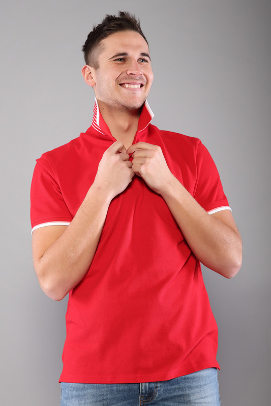 Polo homme Prime rouge 21S