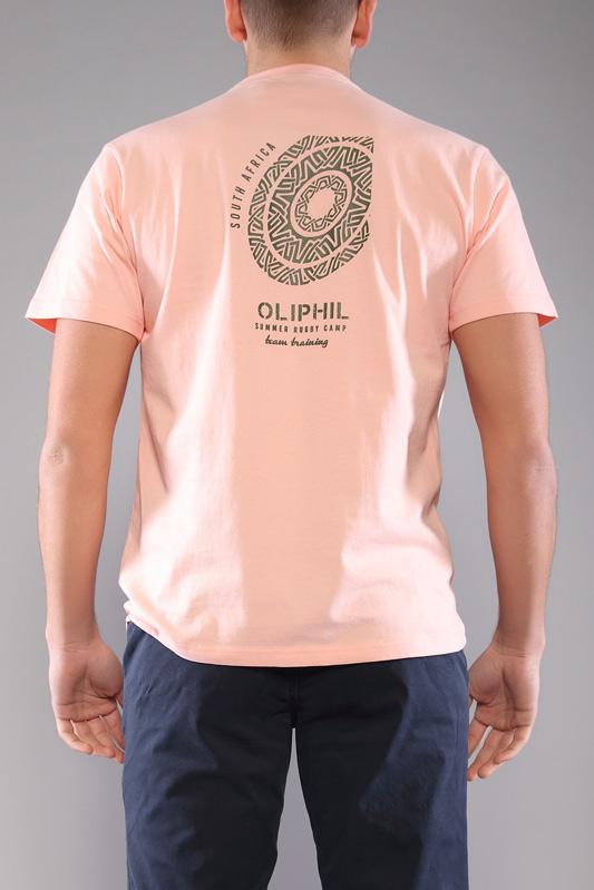 T-shirt homme Emprunte rose