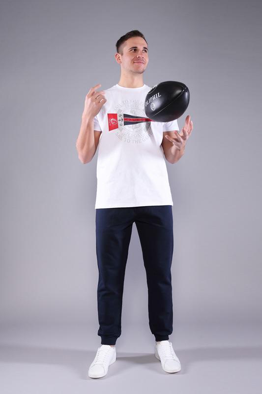 T-shirt Game homme blanc