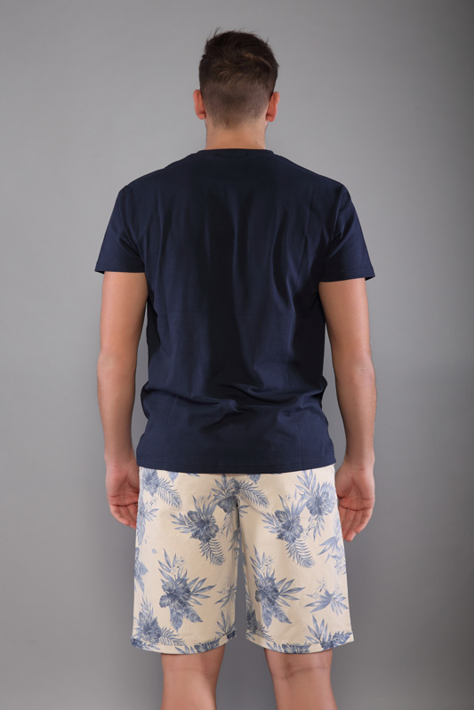 T-shirt Game homme marine