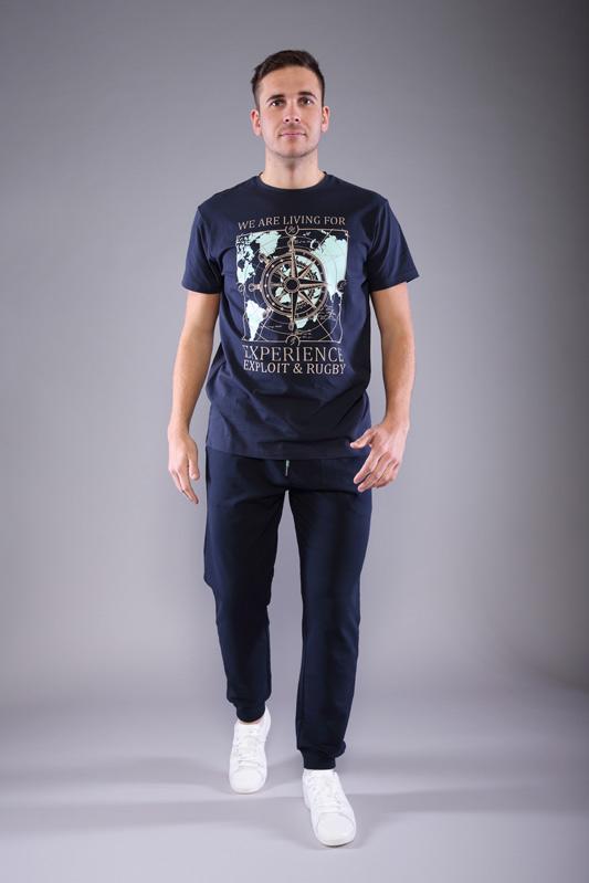T-shirt Mappy homme marine