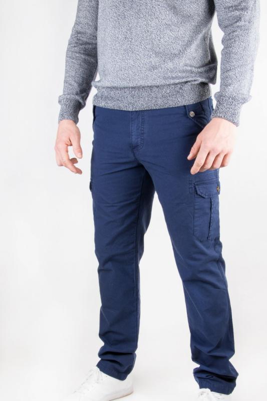 Pantalon homme Rib marine
