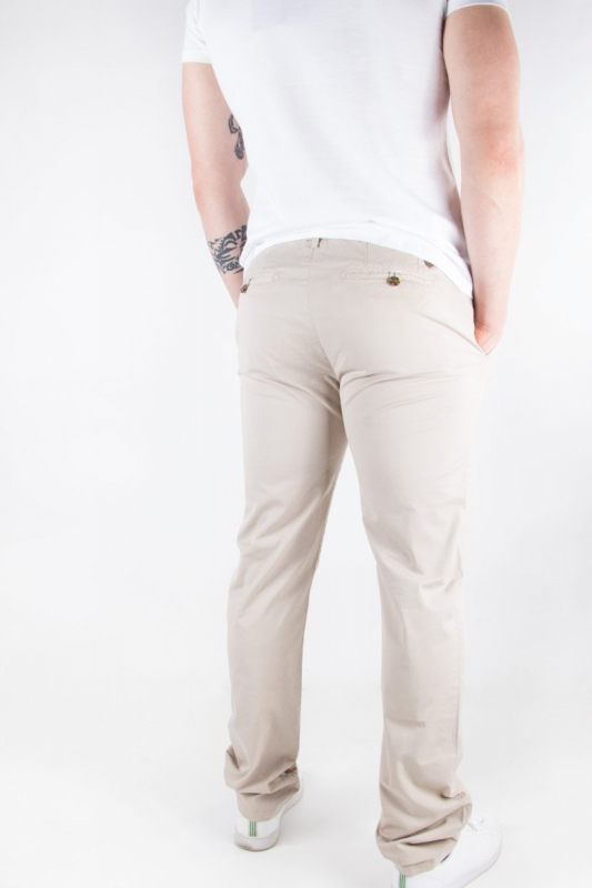 Pantalon chino homme Print...