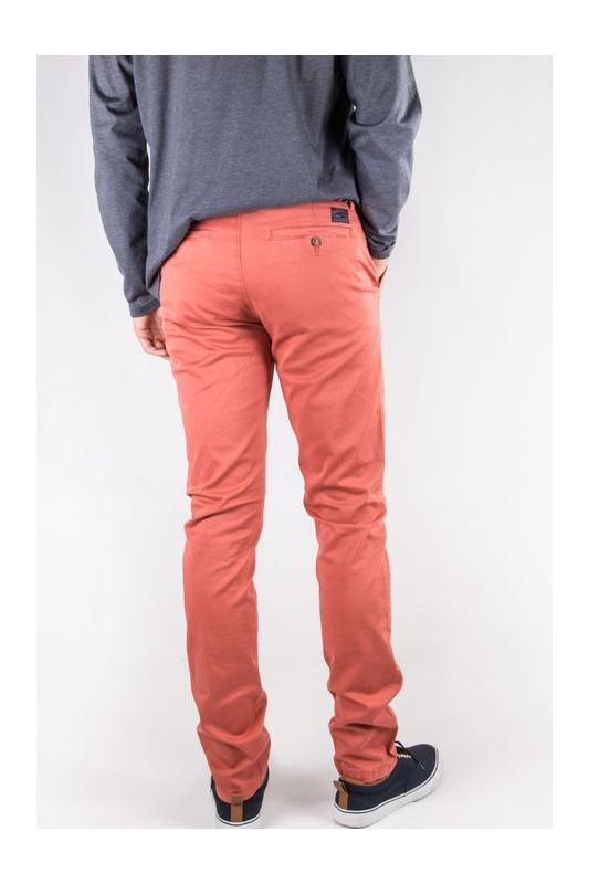 Pantalon homme chino Corail