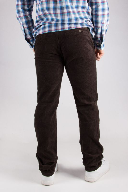 Pantalon homme Napa brun 8W