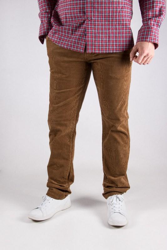 Pantalon homme Napa marron...