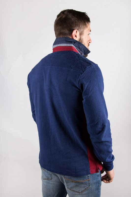 Polo homme rugby Life Marine