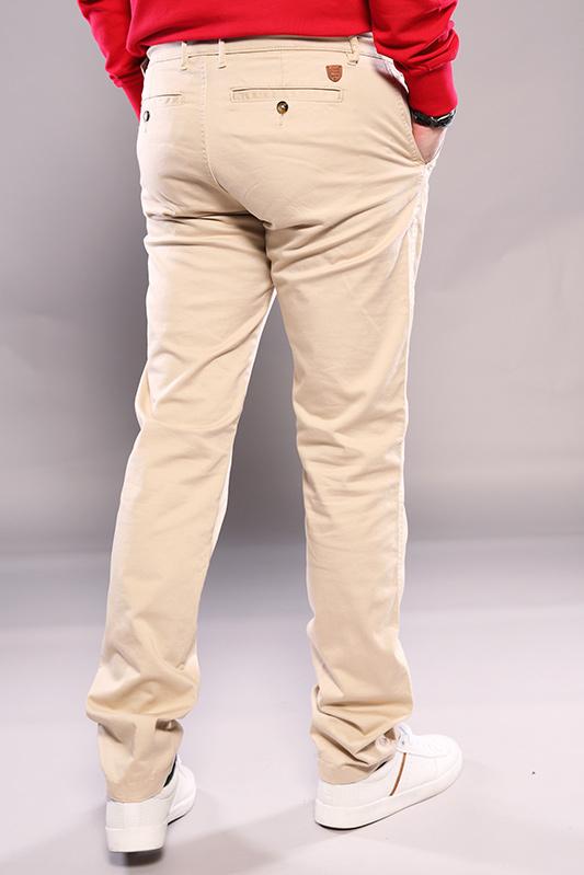Pantalon chino Oliphil beige