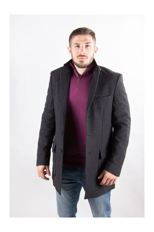 Manteau homme Formel noir
