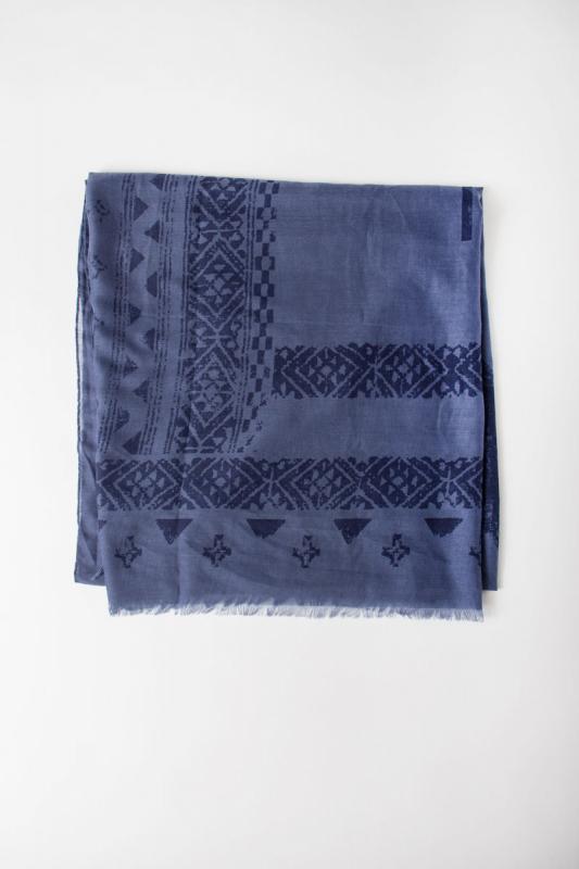 Écharpe Biagi bleu 8W