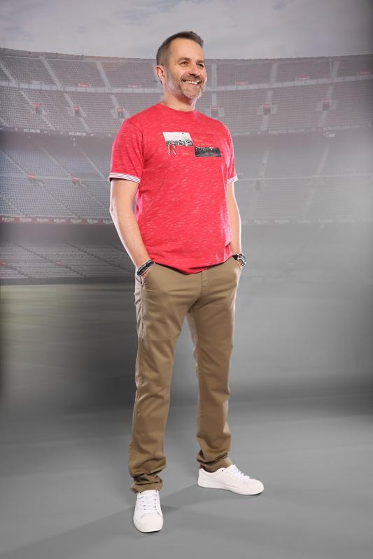 T-shirt homme rugby Flammé...