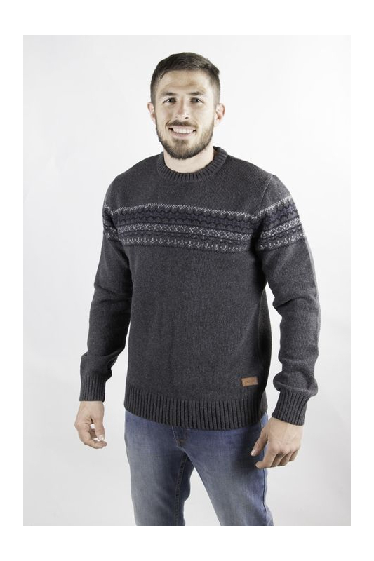 Pull homme Mountain gris...