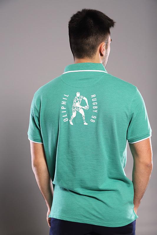Polo homme Ten vert