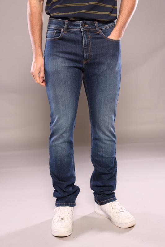 Jean 5 poches bleu medium wash