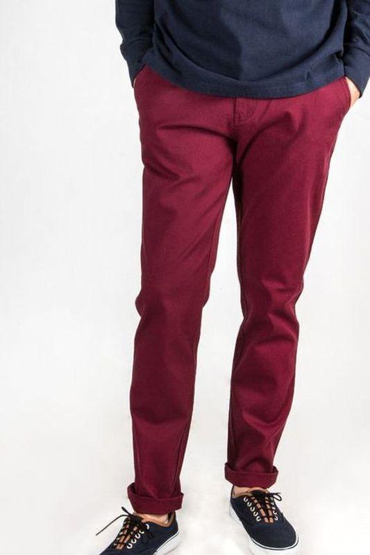 Pantalon homme Dex bordeaux 6S