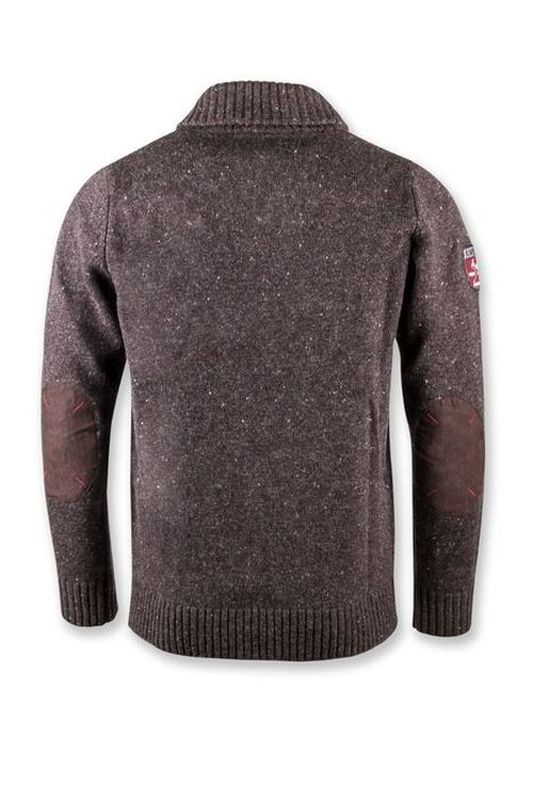 Pull en laine Tog marron 6W