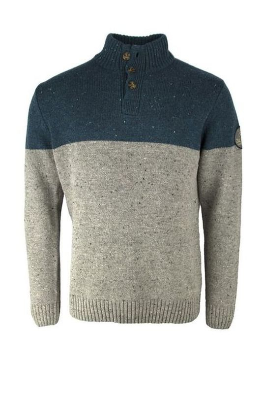 Pull laine homme Truck gris 6W