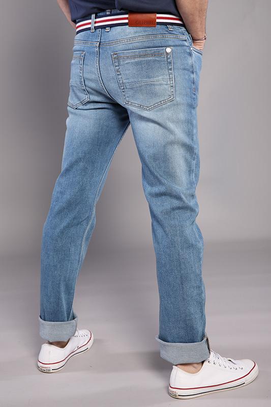 Jean 5 poches Oliphil clair