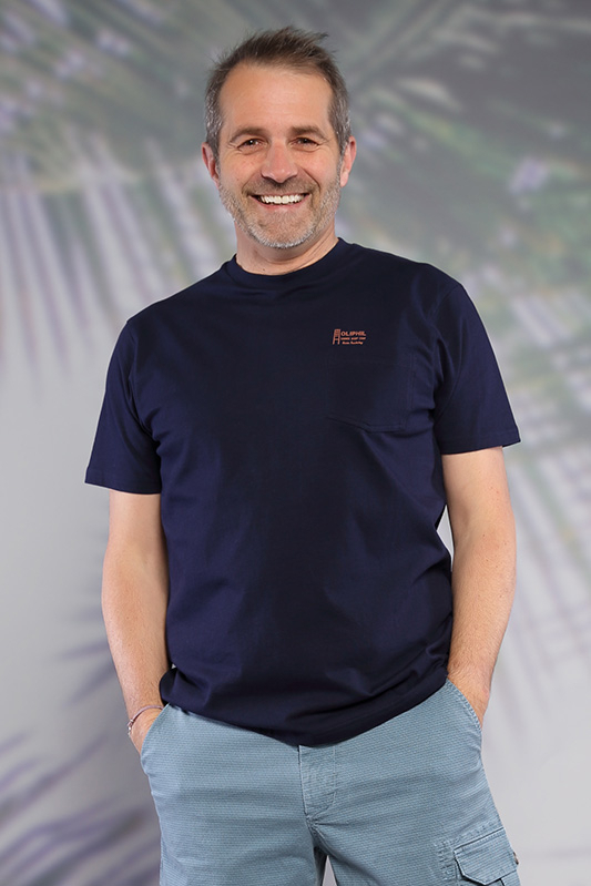 T-shirt homme Emprunte marine