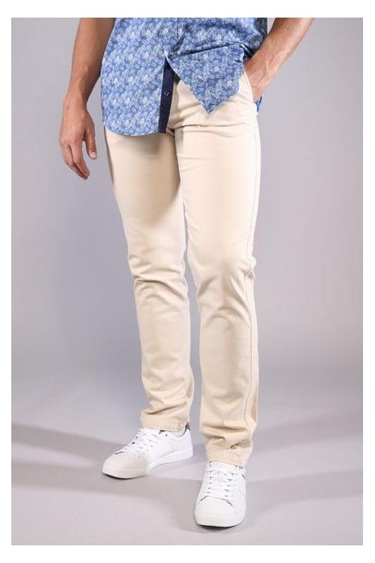 Pantalon homme chino beige