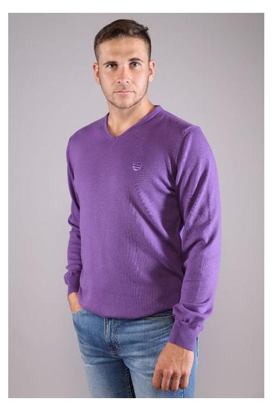 Pull col V oliphil violet 10S