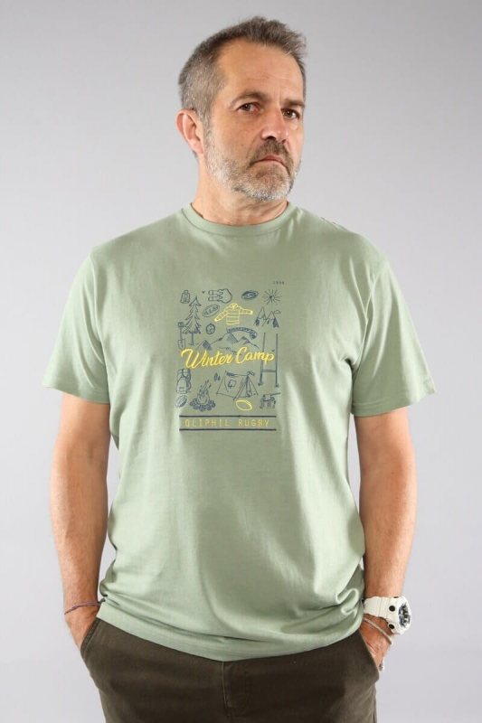 T-shirt homme Oliphil Scoot...